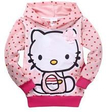 New 2014 Carton Children hoodies kids jackets & coat boys girls outerwear baby spring autumn winter Long sleeve sweatshirts(China (Mainland))