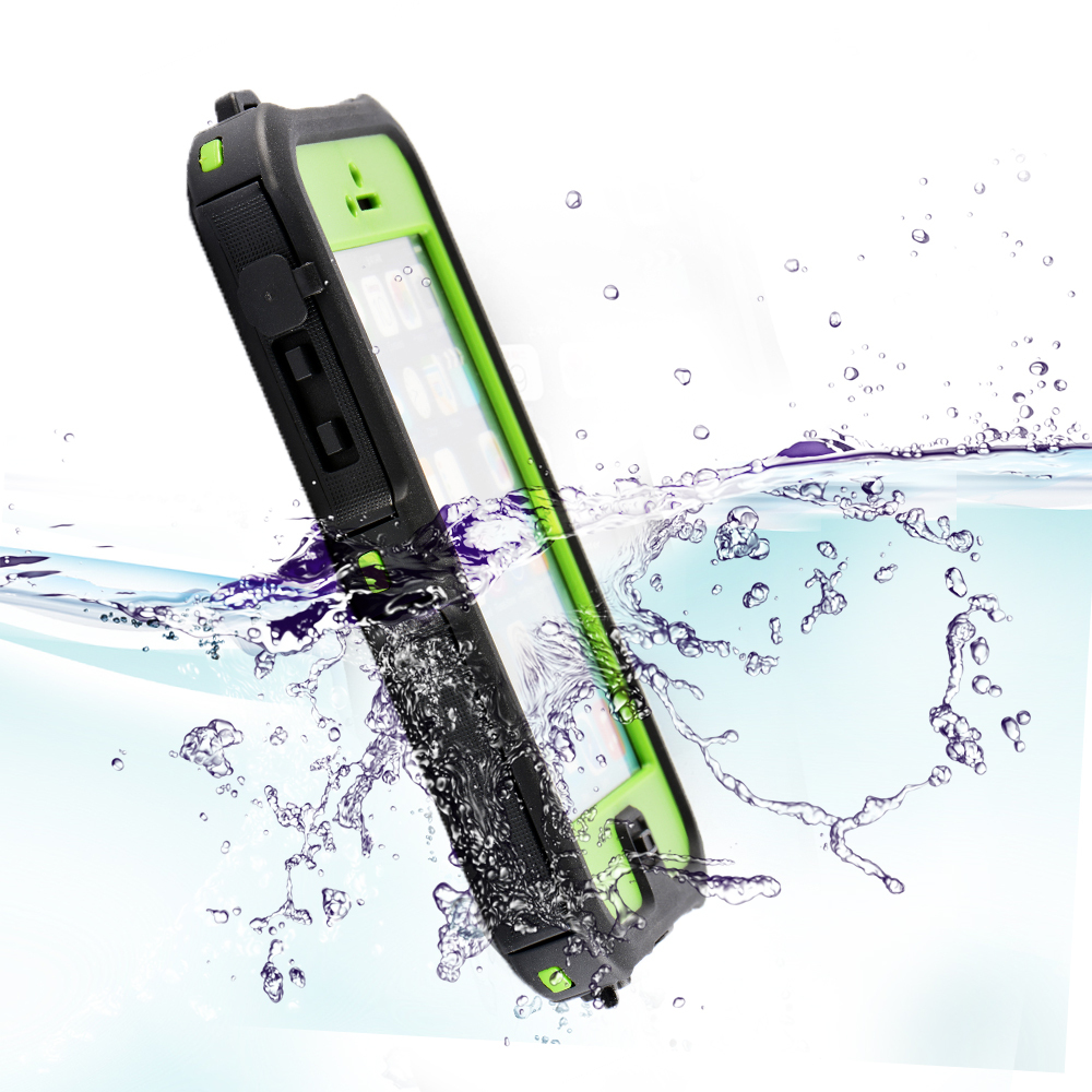 100% sealed Waterproof Durable Water proof Bag back cover Case For iPhone 5 5s(China (Mainland))