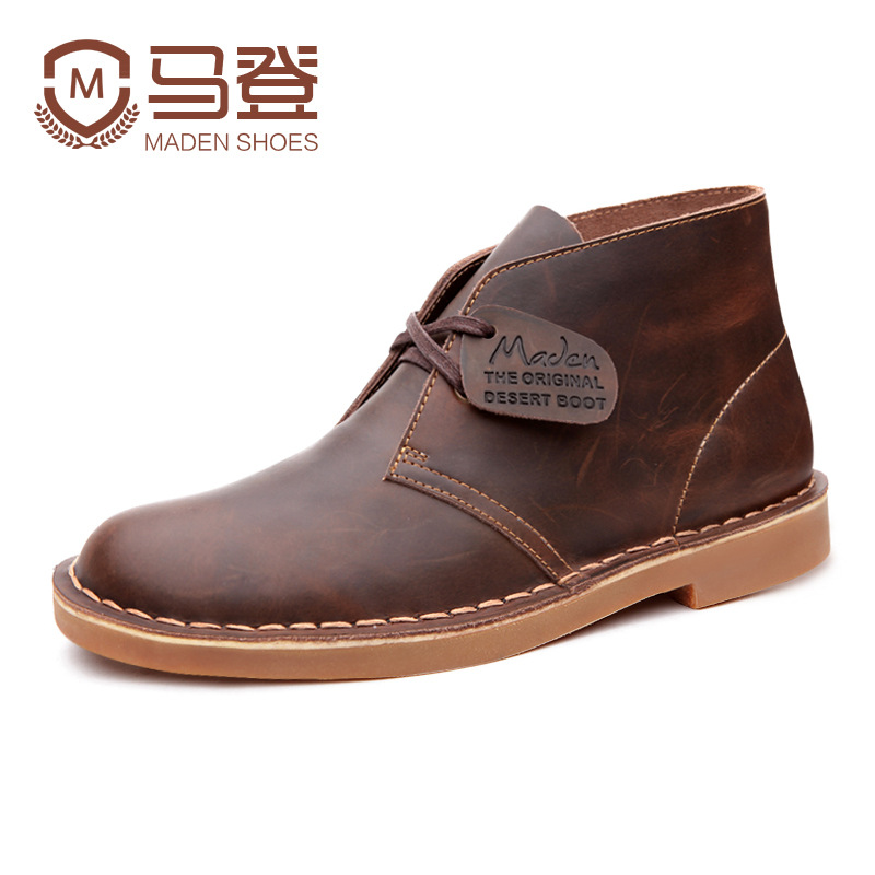 Madden really boots Martin boots male British male boots men's boots men tooling boots male boots desert boots men