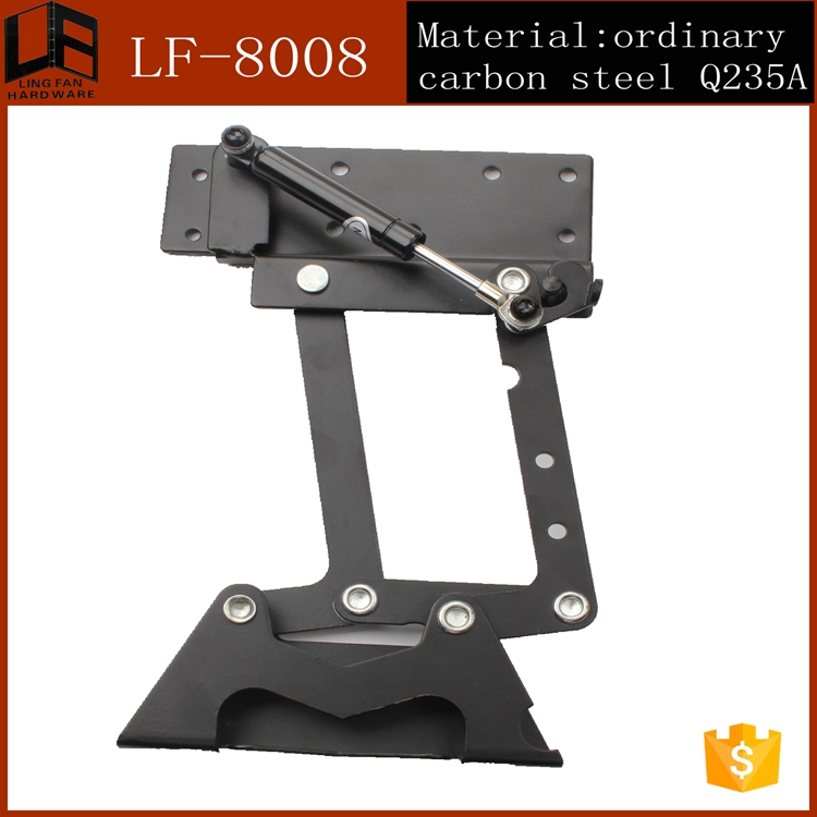 importer of chinese furniture transformer mechanism for table,adjustable height desk hardware,lift top coffee table hinges(China (Mainland))