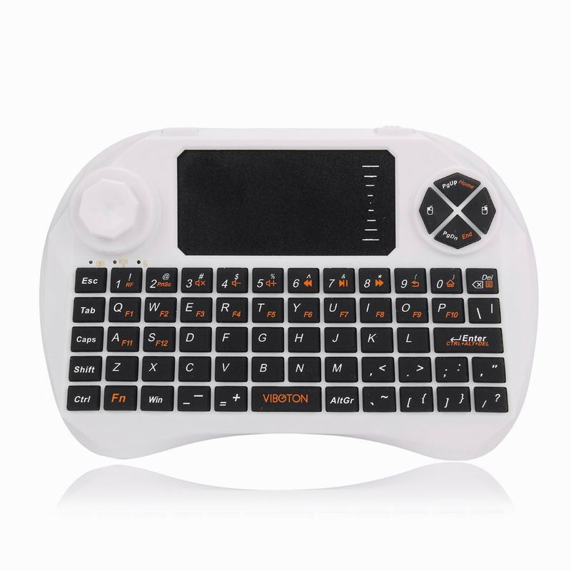 2.4Ghz Mini Wireless Keyboard Mouse Touchpad for Smart TV PC Laptop Tablet Mini Wireless Keyboard Electronic Bluetooth Keyboard(China (Mainland))