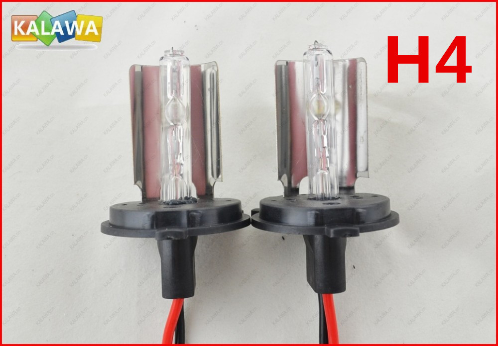 1 pair 12V 35W H4 Quick Start HID bulb HID xenon bulb Quick Start hid xenon bulb can resist UV Free shipping TTT(China (Mainland))