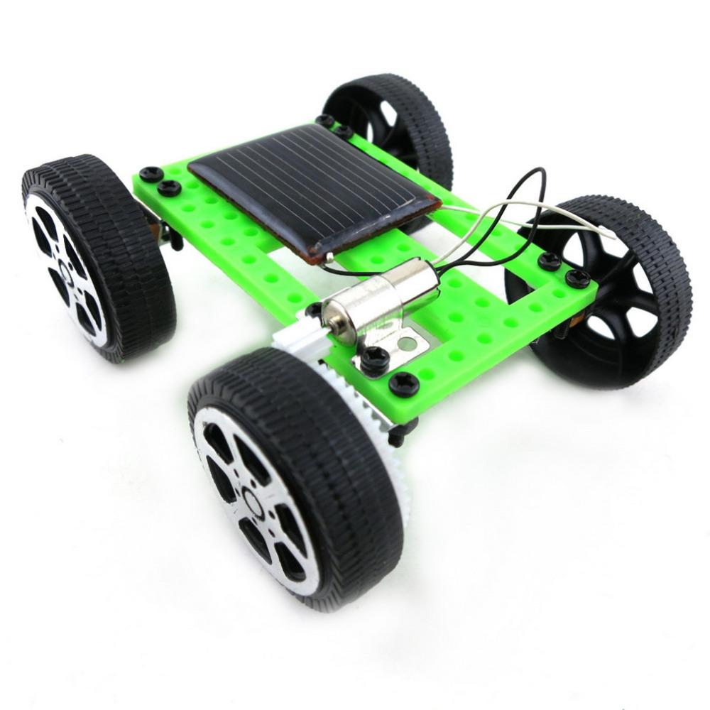 1pcs Mini Solar Powered Toy DIY Car Kit Children Educational Gadget Hobby Funny Hot Worldwide(China (Mainland))
