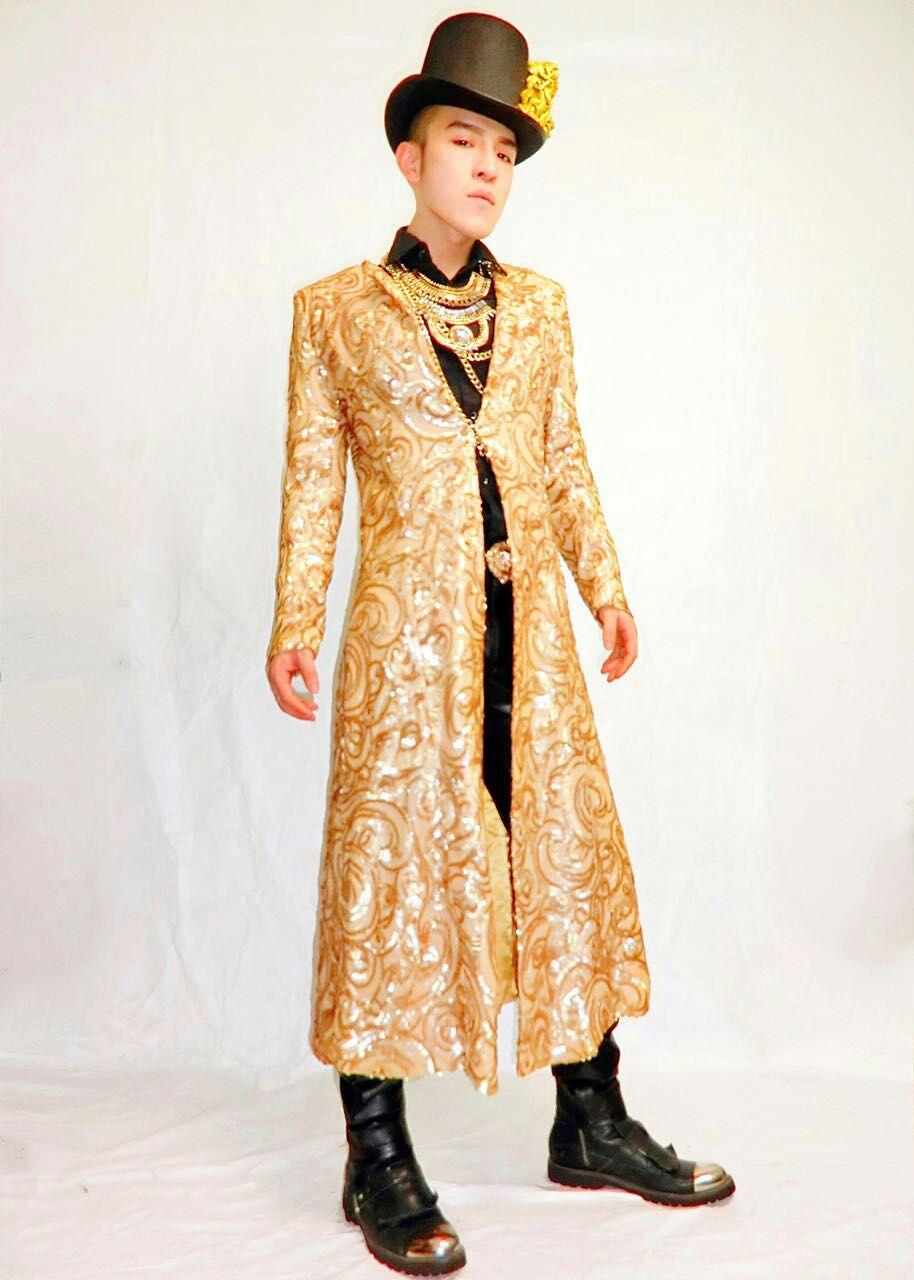 Aliexpress buy fashion men embroidery design long