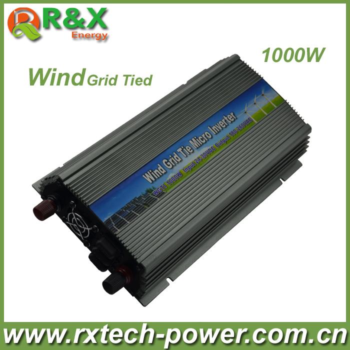 Fedex Freeshipping! 1000W/1KW Grid Tie Inverter for wind turbine, Pure sine wave Power Inverter<br><br>Aliexpress