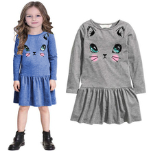 New listed baby girl clothes spring autumn casual dresses kids girl dress children clothing high quality cotton princess dress