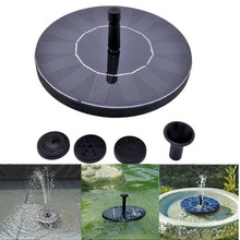 High Quality 7V Floating Water Pump Solar Panel Garden Plants Watering Power Fountain Pool New Arrival(China (Mainland))