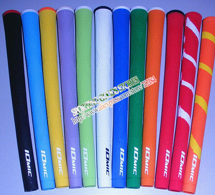 20pc/Lot Golf Grips New IOMIC irons Grip Can mix color,golf club Grip,