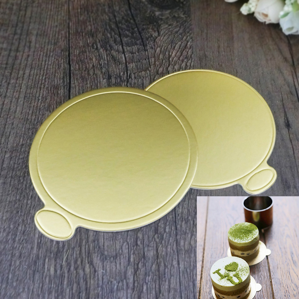 Золотой Край сервировки круглый практичный бумага для выпечки доска Прочный aeProduct.getSubject()