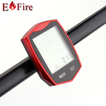 Bike Cycling Bicycle Odometer Computer Wireless Speedometer Multi-Function Battery include YS-515C(China (Mainland))