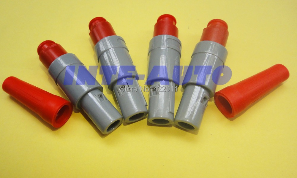 cross lemo plastic 6 pins connector,cable plug and receptacle,male to female(China (Mainland))