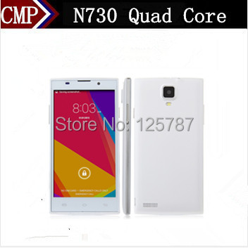 DHL Fast Delivery Star N730 Cell Phone MTK6582 Quad Core Android 4.4 5 Inch IPS 960X540 1GB RAM 8GB ROM 5.0MP WCDMA(China (Mainland))