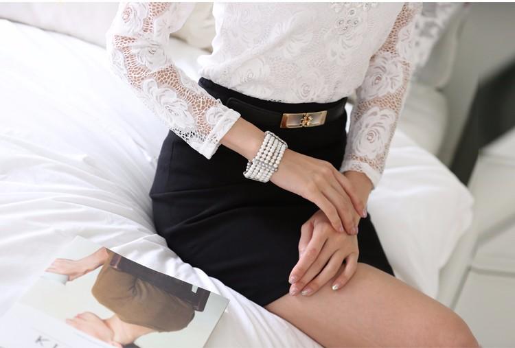 2014 new Women Fashion  cotton sequin pattern basic short-sleeve t shirt Plus size S-XL 5833