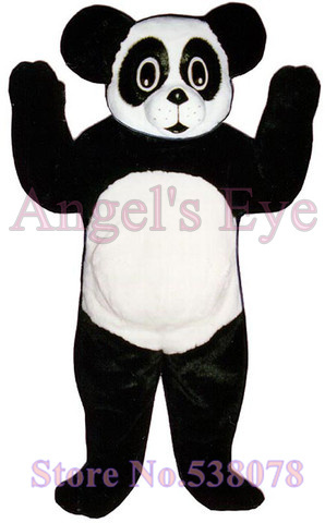 New Hot Sale Baby Panda Mascot Adult Costume Baby Panda Theme Animal Cosplay Costumes Carnival Fancy Dress Kits for school party(China (Mainland))
