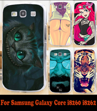 2015 Hard Back cover Skin mobile phone case protective case Shell for Samsung Galaxy Core i8260 GT 8262