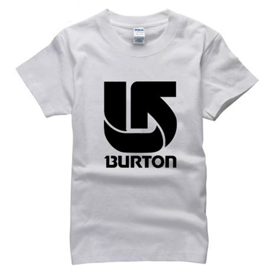 famous outdoor Skiing board brand T Shirt cotton 2015 burton t-shirt man top tee casual man short sleeve plus size(China (Mainland))
