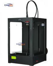 DM Plus Metal Frame 3D Printer Build Size 250*250*450mm 2015 Upgraded DIY CreatBot Singel/Dual Extrudes 2KG Filaments FOR FREE