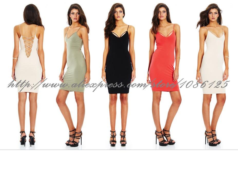 Знаменитости Мода черный вырезать два кусочка бинта задать новую повязку платье 2 штук партия /clue одежда