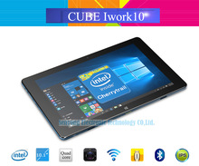 10.1'' IPS Cube iwork10 Ultimate Windows10+Android 5.1 Tablet PC 1920x1200 Intel Atom X5-Z8300 Quad Core 2.0MP Camera 4GB/64GB(China (Mainland))
