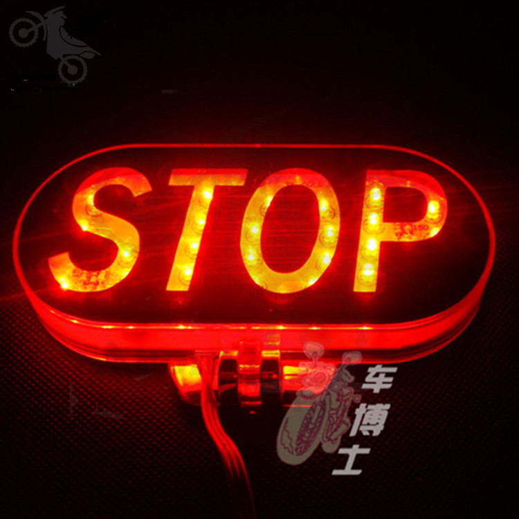 2015 new motorcycle brake lights LED stop red light motorcycle Accessories unversal motorbike Lighting suzuki parts Tail Light(China (Mainland))