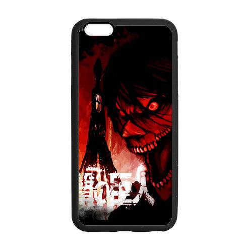 Attack on Titan Titan Eren Cover case for iphone 4 4s 5 5s 5c 6 6s