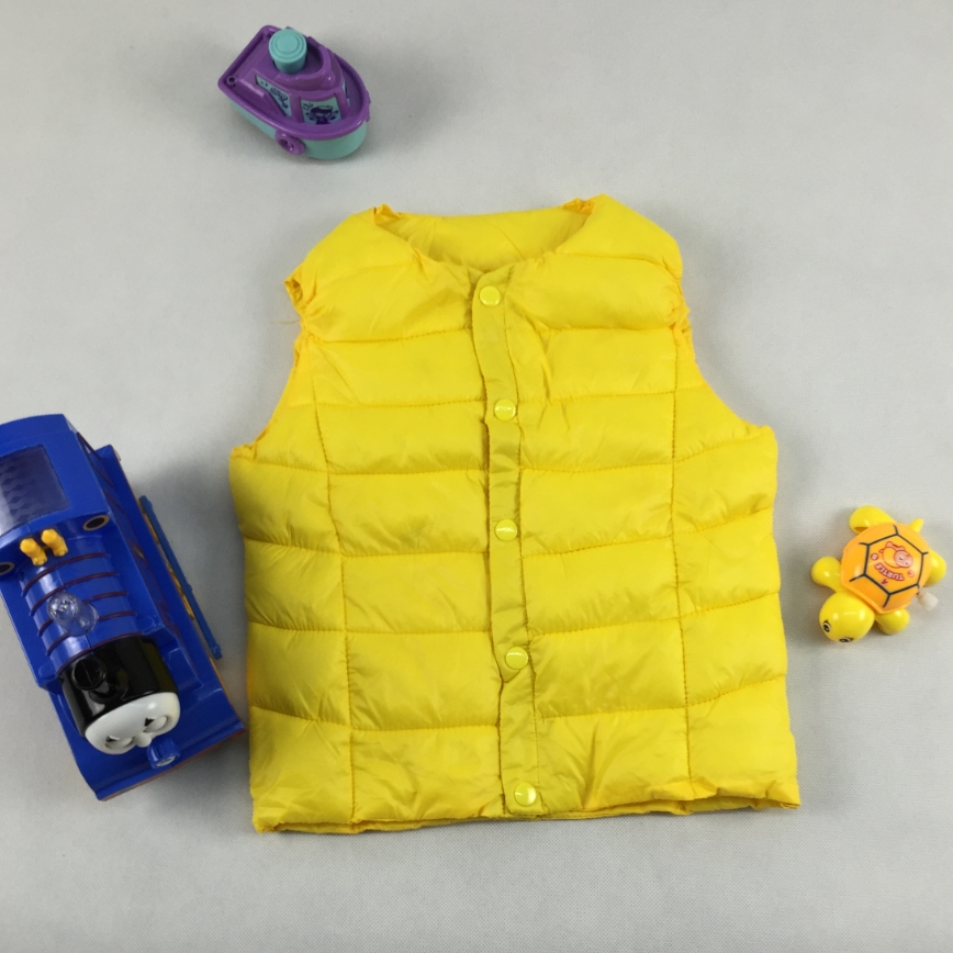 Boys Waistcoat Children Windbreaker Coat Girls Vests New Clothes Baby Clothing Outwear Winter Spring Candy Colors Baby Boy Coats(China (Mainland))
