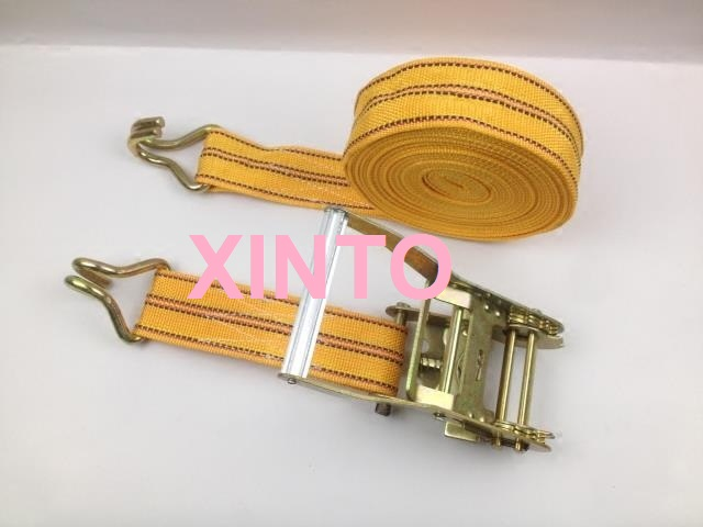 "2"",55MM,5TX10M Aluminum alloy steel handle,ratchet tie down cargo lashing shipping package strap car auto truck assembly sling(China (Mainland))"