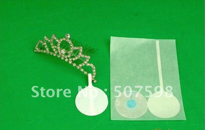 1000PCS/ lot , eas soft label for jewelry protection, jewelry tag, jewelry label, RF 8.2MHZ(China (Mainland))