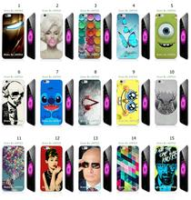 Mobile Phone Case Hot 1pc Iron Man Butterfly Hybrid Design Protective White Hard Case For Iphone 6/6s plus Free Shipping