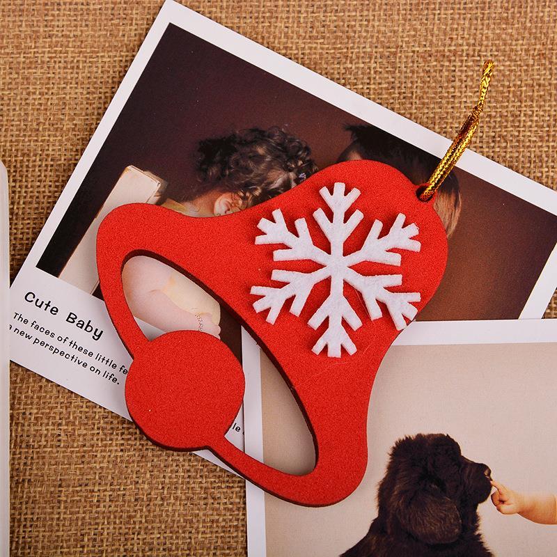 Xmas Tree Decorations 2015 New Products Christmas Snowflake Jingle bells Decoracion Navidad Adornos Fashion Accesorios Navidad(China (Mainland))