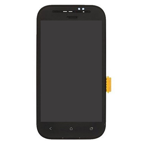 Factory Supply  Mobile Phone LCD Display Touch Screen Digitizer Assembly with Frame Replacement for HTC Desire SV / T326e(China (Mainland))