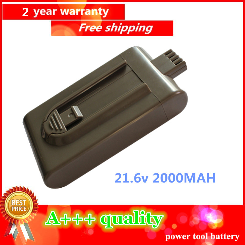 21.6V 2000mAh Li-ion Replacement Battery For Dyson Vacuum Cleaner DC16 DC12 12097, 912433-01, 912433-03, 912433-04 BP01(China (Mainland))
