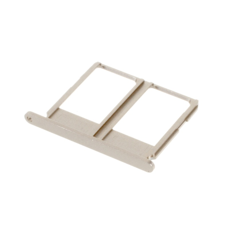 For Galaxy A9 (2016) Replacement Parts SIM Card Tray Holder Dual SIM Slot for Samsung Galaxy A9 A910 (OEM) - Grey(China (Mainland))