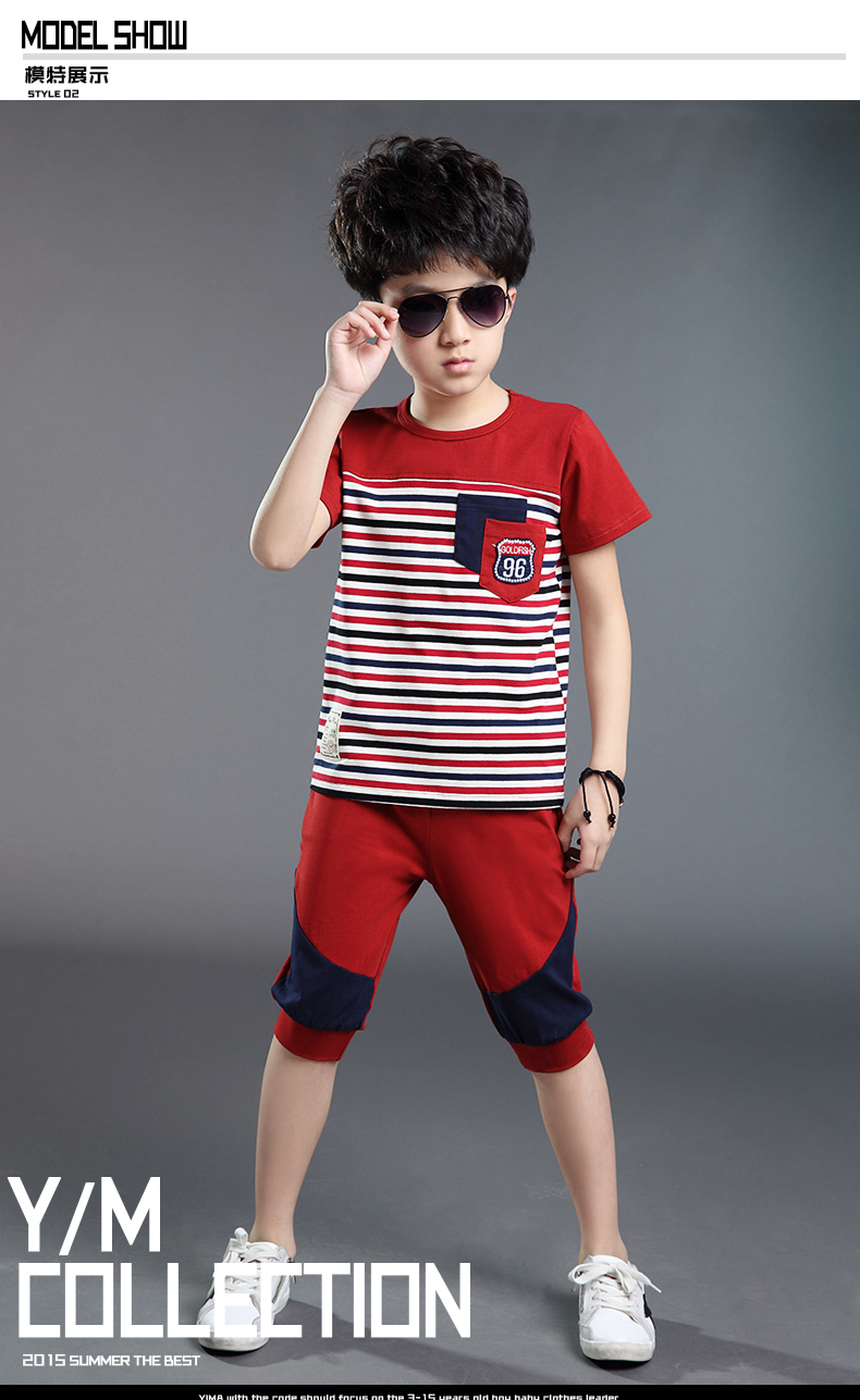 2015 Boy Dress For Summer Style Boy Clothes Short Pants In