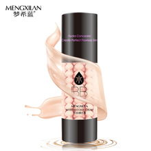 MENGXILAN Hyaluronic Acid BB Cream Face Skin Care Concealer Beauty Essentials Contour Palette Base SPF25 PA++ Foundation Makeup(China (Mainland))