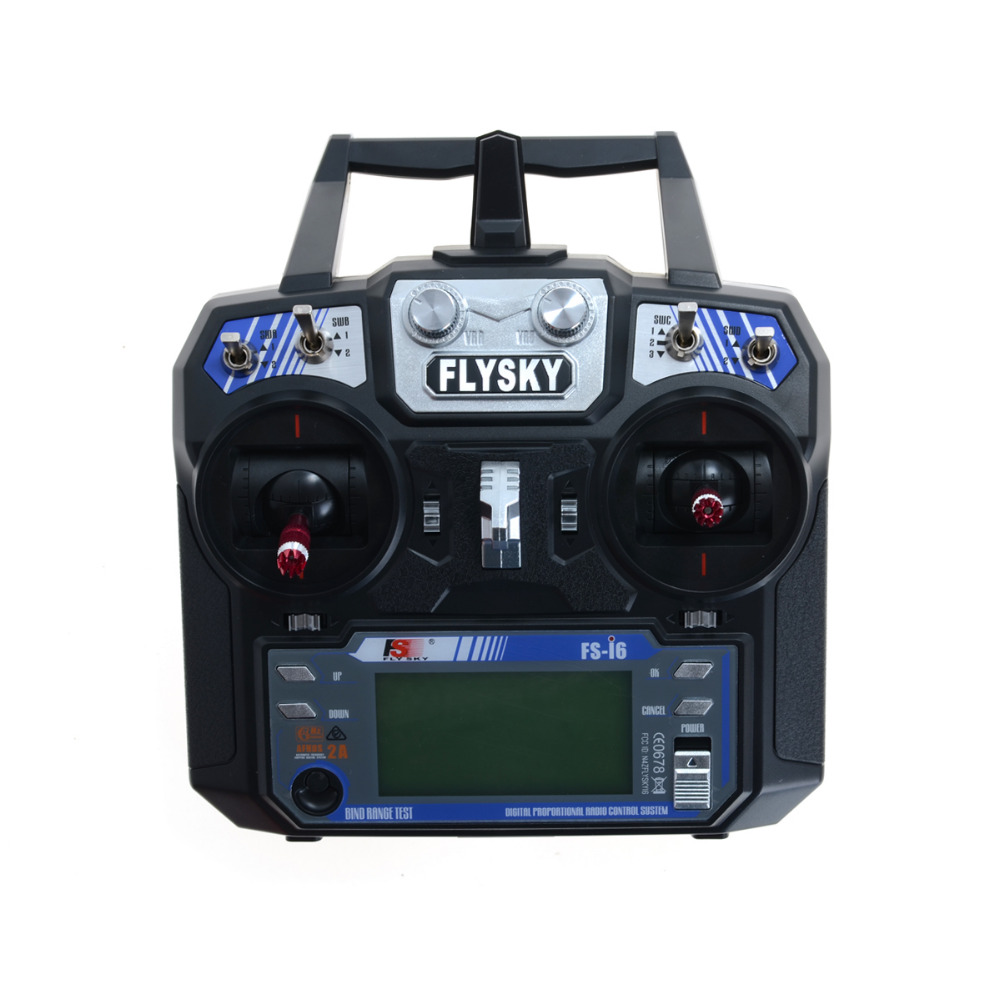 FS-i6 Flysky AFHDS 2A 2.4GHz 6CH Radio Transmitter & FS-iA6 Receiver for RC Helicopter Multirotor Plane Quadcopter(China (Mainland))