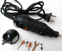 2015 New EU plug 220V 180W DREMEL Electric Tools,Mini Grinder Drill+DREMEL Drill Locator,Horn seat