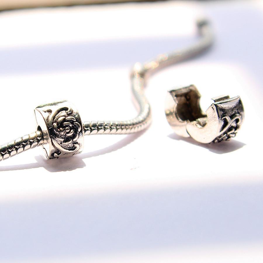 2pcs free shipping fits pandora charms bracelets safety
