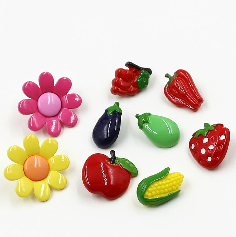 Hot sale 10pcs/lot color mixing buttons plastic botones sewing accessories snaps scrapbooking decorative buttons botoes,Z2557(China (Mainland))