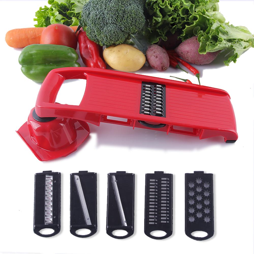 LEKOCH 6 Piece Blades Mandoline Slicer + 1 Julienne Peeler Vegetable Slicer Fruit Vegetable Tools Kitchen Accessories(China (Mainland))