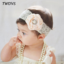 Buy TWDVS Newborn Lace Band Flower Headband Newborn Lace Wrap Hair Elastic bands Flower Headwear Hair Accessories W239 for $1.06 in AliExpress store