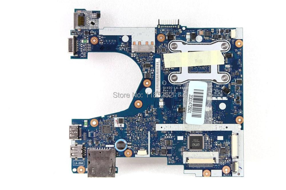 For Acer Chromebook AC710 Intel Celeron 847 Motherboard NB.SH711.001 Q1VZC LA-8943P Fully Tested(China (Mainland))