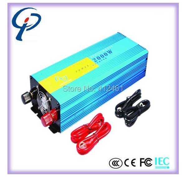CE & RoHS approved DC12V AC240V 2000W pure sine wave solar inverter/power inverter with Australia socket two years warranty