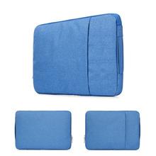 Buy New Soft Nylon Laptop Sleeve Bag Waterproof Notebook case Macbook Air 11 13 Pro 13 15 Retina 11/12/13/14/15 inch Laptop Bags for $17.09 in AliExpress store
