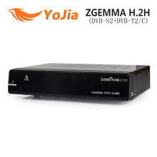 1DVB-S2 Hybrid DVB-T2/C Enigma2 ZGEMMA H.2H Satellite TV Box Receiver 2000DMIPS CPU Processor BCM7362 Dual Thread - Shenzhen Yojia Technology Co., Ltd. store