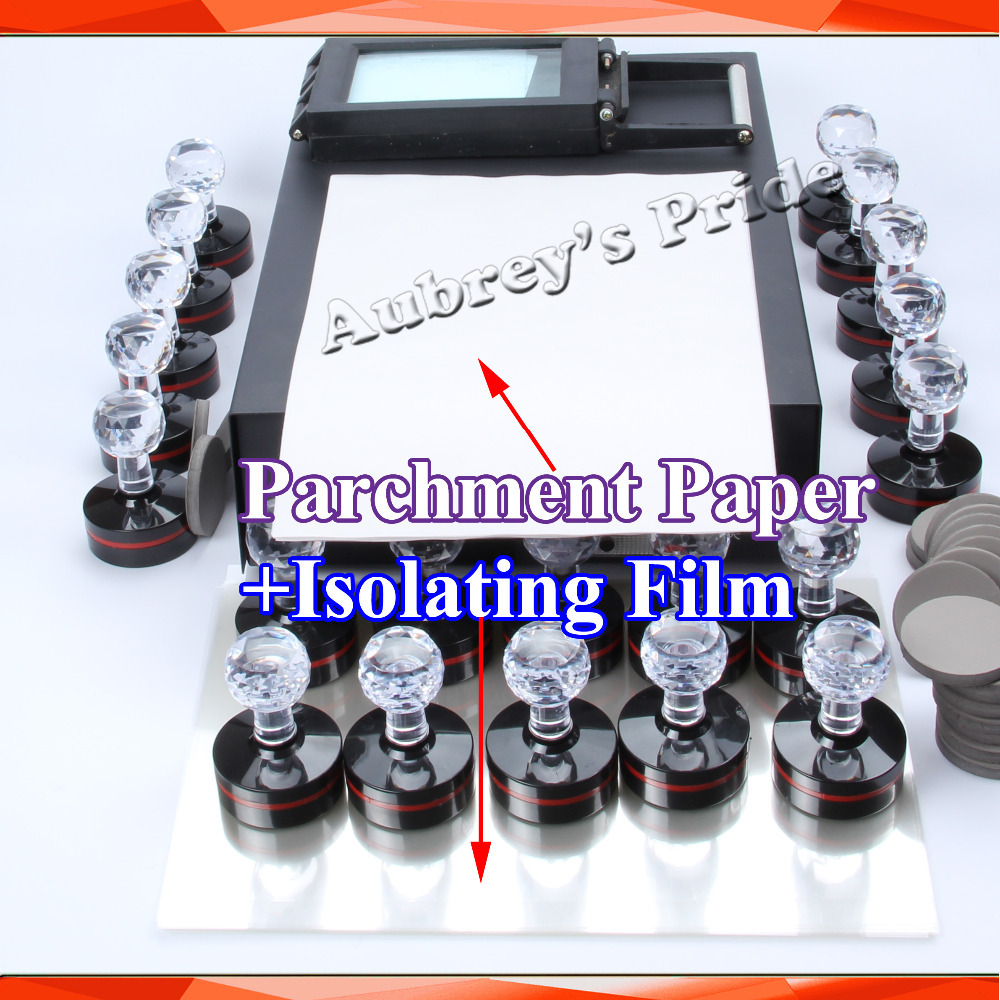 10 Sheets A4 Parchment Paper and Isolating Film for Photosensitive Portrait Flash Stamp Machine Kit Selfinking Stamping Making(China (Mainland))