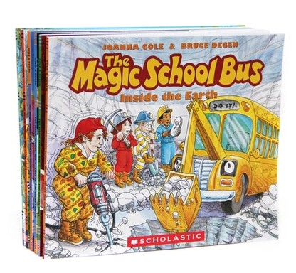 Picture book the magic school bus school bus child library children english book 6pcs per set(China (Mainland))