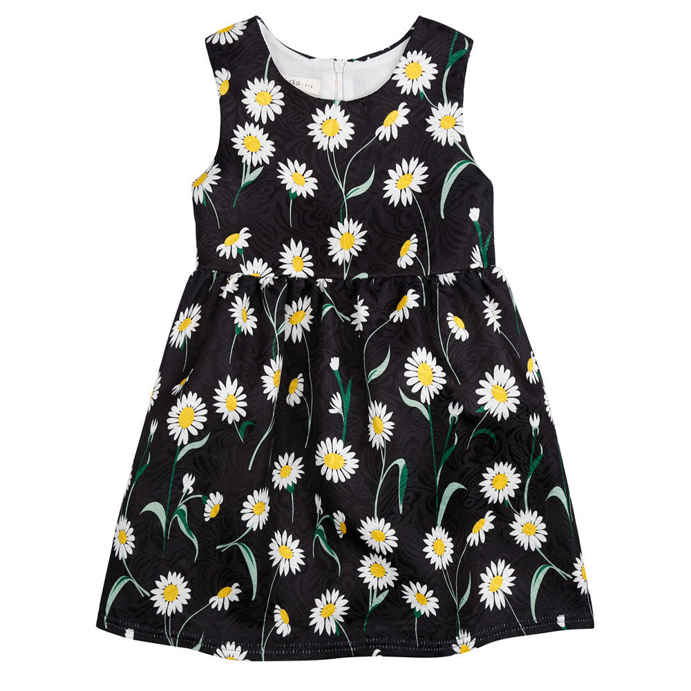 3-10 Years Baby Girl Dresses 2016 Summer Kids Floral Print Clothes Princess Dresses for Girls Girls Costumes Vestido Infantis(China (Mainland))