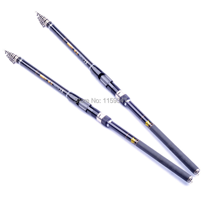 Agepoch 3.6/4.5/5.4/6.3/7.2M Carbon Fiber Rock Fishing Rod Spinning Tackle Feeder Peche Telescopic Carp Sea Surfcasting Favorite(China (Mainland))