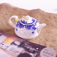 Dining bar Ceramic Kung Fu Teapot Tea Cup Set Travel Porcelain Tea Set